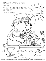 Small Picture free water safety coloring sheets Syougitcom