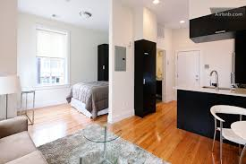 One Bedroom Apartment In Boston Innovative On Intended Home Design Interior  And 9