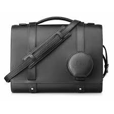 Leica Q Leather Day Bag, Black