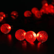 Red Globe String Lights Pin On Halloween String Lights