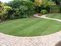Small Picture Circular garden and paving design in Cambridge Gardening