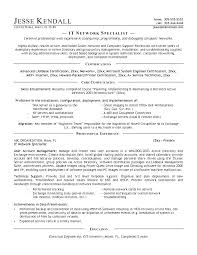It Resume Objective Technical Resume Tips Tech Resume Tips Example