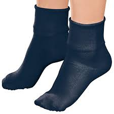 Buster Brown Socks Size Chart Buster Brown Women S Low Cut Ankle Socks 100 Cotton Elastic Free Navy Blue Small 3 Pair