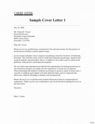 Utility Worker Cover L New Social Worker Cover Letter Sample No