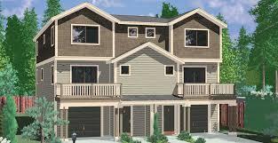 d 585 townhouse plans row house plans 4 bedroom duplex house plans