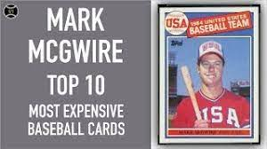 We did not find results for: Mark Mcgwire Top 10 Most Expensive Baseball Cards Sold On Ebay December February 2019 Youtube