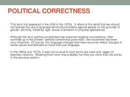 political correctness political correctness