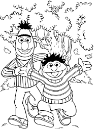 Small Picture Free Sesame Street Number Coloring Pages Coloring Pages