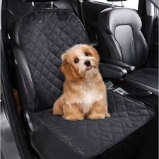 pedy pet dog front seat cover 600d heavy duty water resistant scratch proof nonslip durable machine washable for cars trucks and suvs