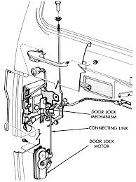 car door latch assembly. 1: Power Door Lock Motor Assembly Car Latch