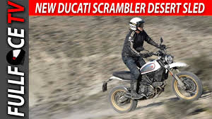 2017 ducati scrambler desert sled price and review youtube