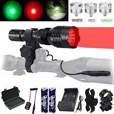 VASTFIRE Predator Light with Interchangeable (Red ... - Amazon.com