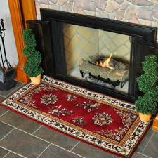 56 rectangle burdy oriental fireplace rug