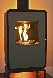 contemporary freestanding fireplace from nestor martin model nestor martin o25 gas stove by fiamma