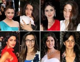 top 10 bollywood actress without makeup