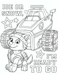 Let It Snow Coloring Pages Luxury Paw Patrol Coloring Pages Free