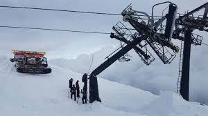 chair lift. Brilliant Lift Damage To Turoa U0027High Noon Expressu0027 Ski Field Chair Lift Photo And Chair Lift I
