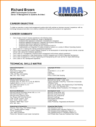 Example Of Career Objective In Resume Career Overview Resume Examples Best Of 24 Career Objectives Resume 16