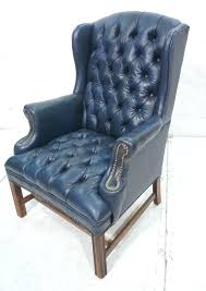 blue leather chairs navy blue leather chesterfield style wing chair lot navy blue chair cover light blue leather chairs blue leather chair navy