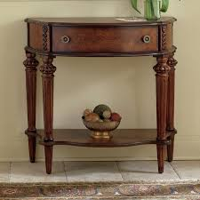 wooden console table. Modern Console Tables Wooden Collection Of Top Butler Plantation Cherry Demilune Table E
