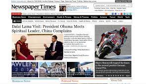 Wordpress Template Newspaper Magazine3 Newspaper Times Wordpress Theme Themelock Com