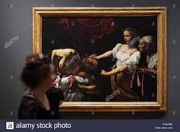 painting by caravaggio in the national gallery of ancient art at palazzo barberini rome italy the painting from the collection of the national gallery of