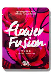 Buy <b>Origins Flower Fusion</b> Hydrating Sheet Mask - <b>Rose</b> from the ...