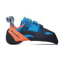 Evolv Shoe Size Chart Evolv Shaman Blue Orange