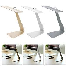 ultra minimalist office. Home - Ultra-Thin Minimalist USB Desk Lamp With Smart Touch Dimmer And  Built- Ultra Minimalist Office