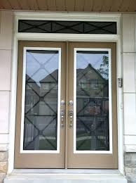wrought iron glass door inserts distinctive with designs 9 best wrought iron glass inserts by home
