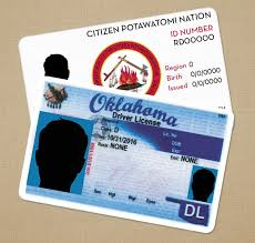 Oklahoma After Out Cards On Compliance Nation Tribal Can't State-issued Id Rely Potawatomi Ids • Fall Of Citizen