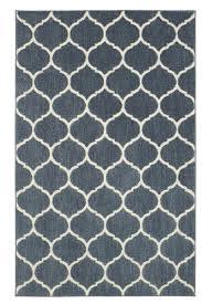 mohawk home loft lattice blue area rug 10 x 14