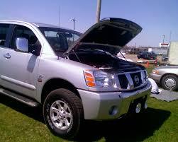 2004 Nissan Titan LE CC 4x4 OR BT 1/4 mile Drag Racing timeslip ...