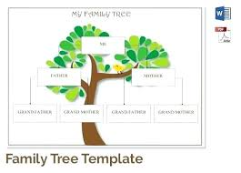 Family Tree Templates Microsoft Family Tree Diagram Microsoft Word Arianet Co