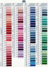 Dmc Coton A Broder 25 Art 107 On Choosing Colors