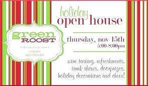 Open House Invites Wording Birday Invitation Invitations