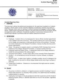 6 604 Accident Reporting Policy Page 1 Of 5 Pdf