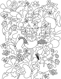 A wonderful coloring page inspired by the incredible world of alice. Doodle Coloring Pages Best Coloring Pages For Kids