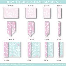 How to Make Bias Binding with a Bias Binding Maker | Torie Jayne & Binding widths Adamdwight.com