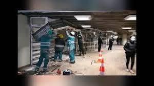 VIDEO Scandal și acuzații la demolarea chioșcurilor din stația Ștefan cel Mare. A fost chemată poliția