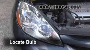 headlight change 2004 2010 toyota sienna 2006 toyota sienna le remove bulb steps to remove a burnt out bulb