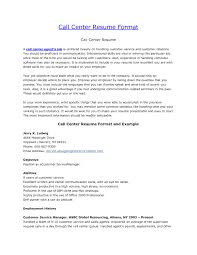 Sample Resume For Call Center In The Philippines Valid Inbound Call