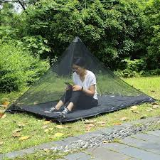 ultralight camping tent outdoor mosquito net portable travel compact breathable 50d mesh tent pyramid single person mosquito net 8 man tent tunnel tents