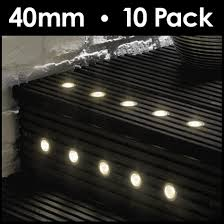 minisun light complete stainless steel led decking lights kit