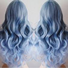 Subtle Blue Highlights 21 Bold Blue Highlight Hairstyles Blue Ombre Hair Ideas Styles