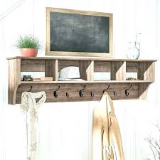 Coat Rack And Shelf Impressive Wall Coat Rack With Hooks Rustic Coat Hanger Coat Hanger Shelf