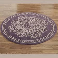 bathroom ideas purple cotton round bathroom rugs with fl pattern awesome round bathroom rugs