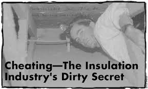 Home Energy Magazine Cheating The Insulation Industrys