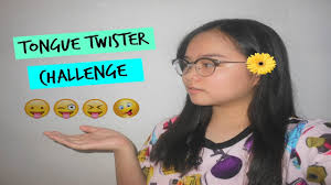Tongue Twister Challenge Kyla J. YouTube