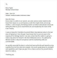 Samples Of Letters Recommendation For Teachers Sample Letter Student